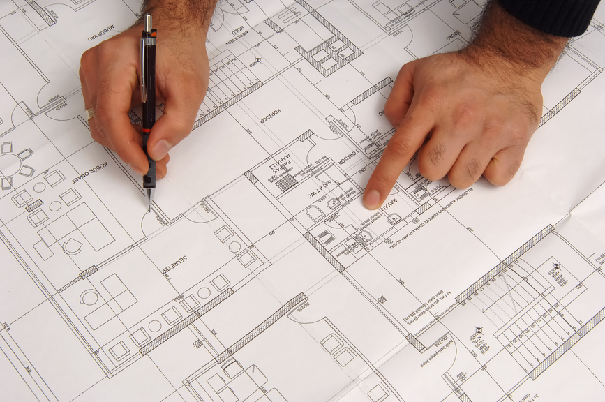 Architect drawing hand release the a p e for How to draw architectural plans by hand