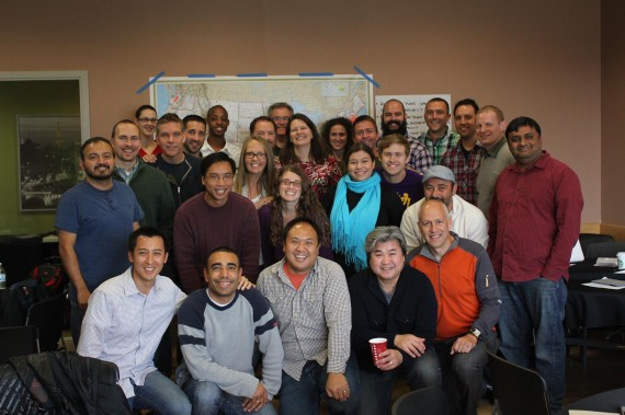 About 30 Area Directors got together this Fall to talk about apostolic movements.